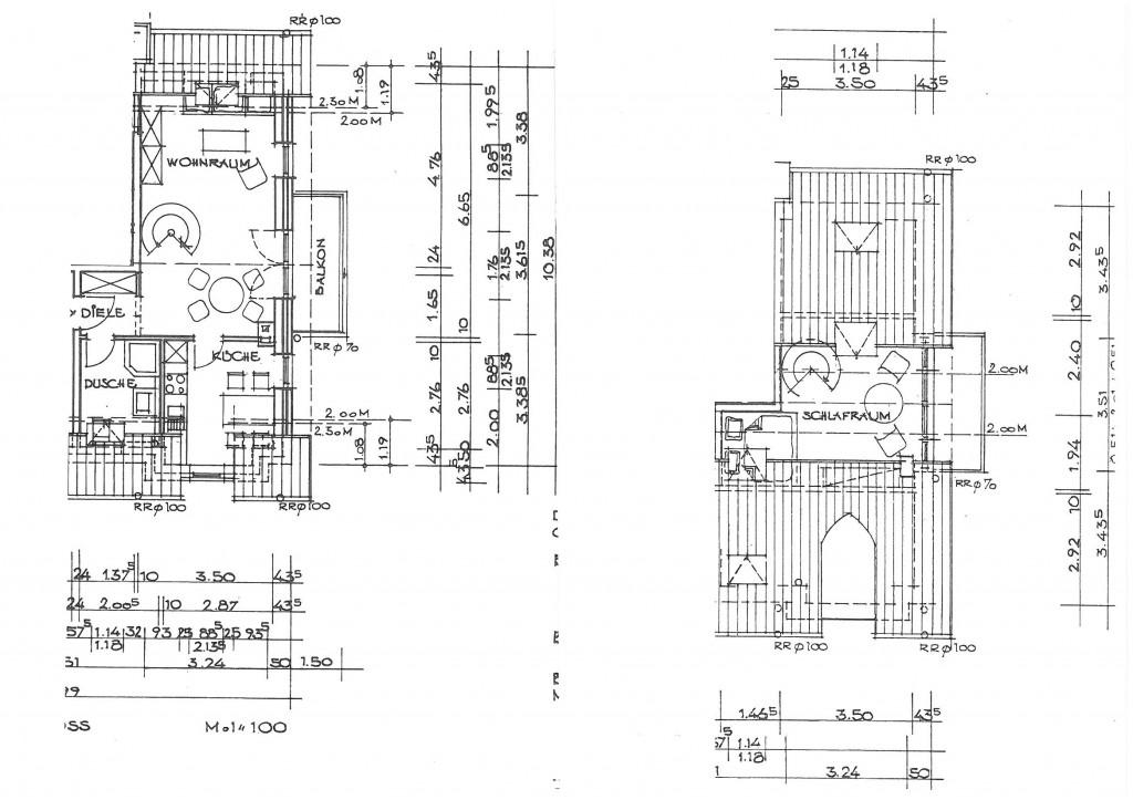 Grundrisszeichnung | Pescher Strasse 130 size: 1024 x 723 post ID: 2 File size: 0 B